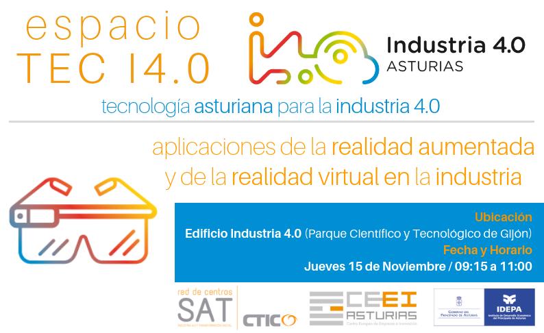Espacio TEC I4.0 - Tecnologías de visión