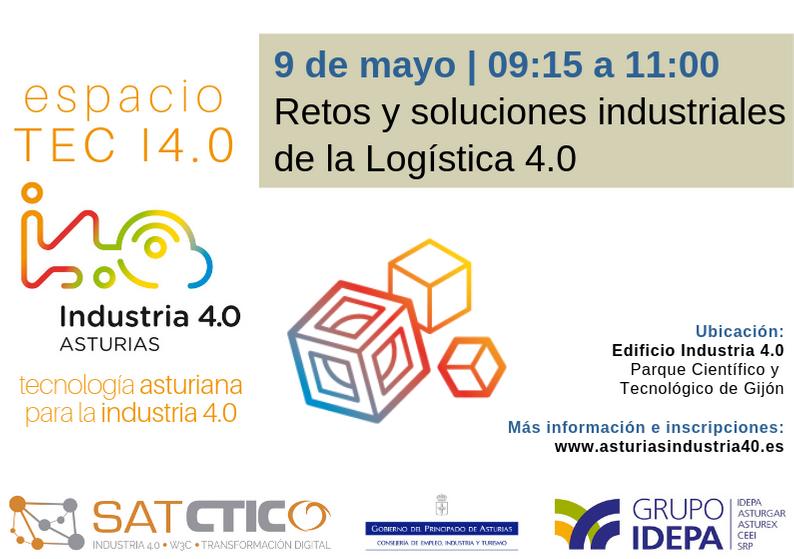 Ciclo Espacio TEC I4.0 - Logística 4.0