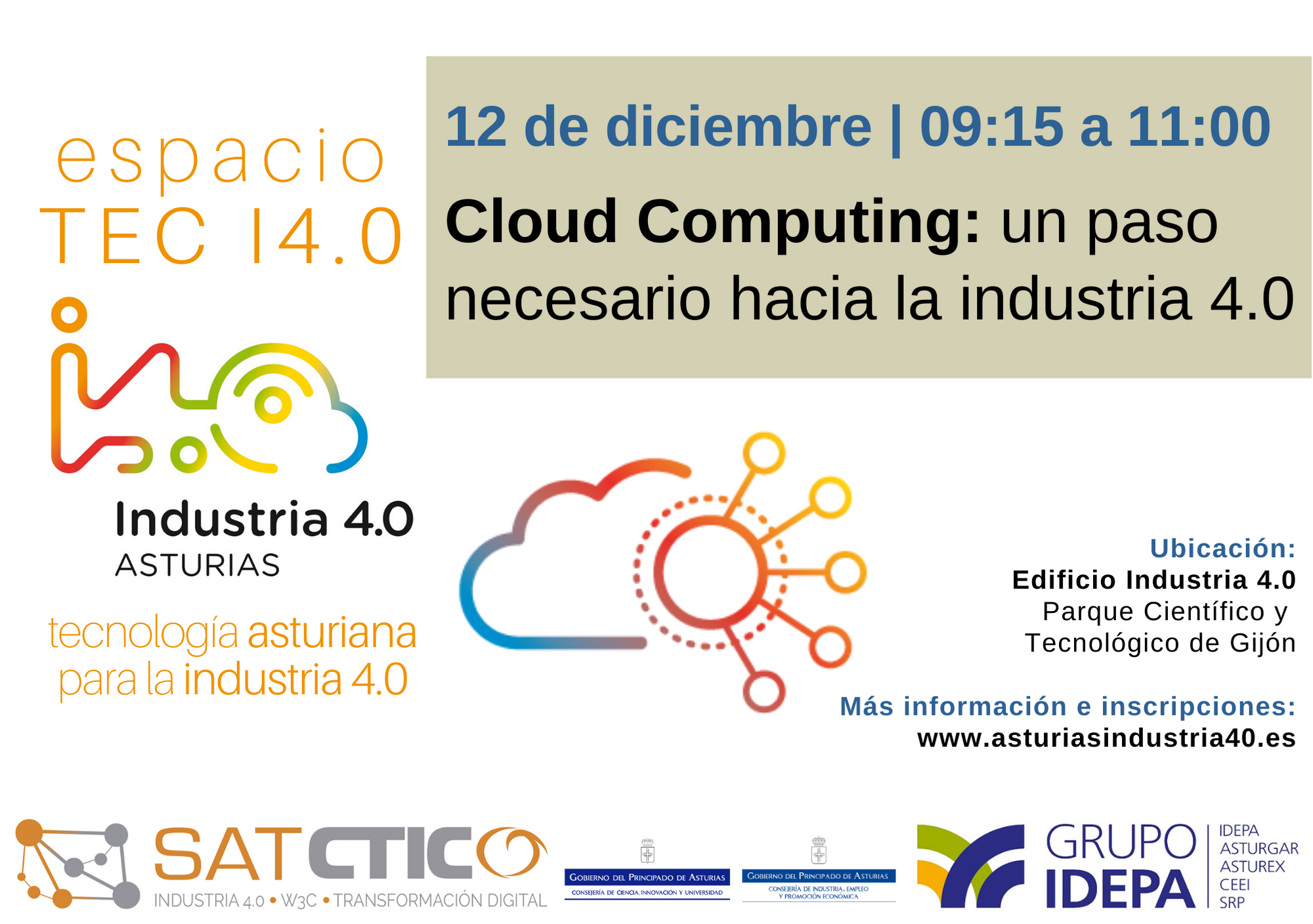 Espacio TEC I4.0 - Cloud Computing